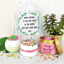 Sister Birthday Bath Set and Candle