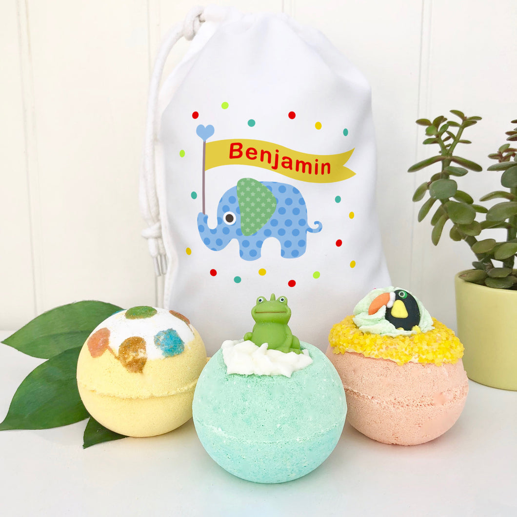 Toy And Bath Bomb Set