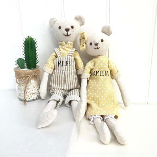 Linen Soft Toy