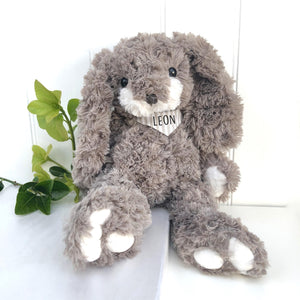 Personalised Rabbit Cuddly Toy