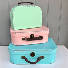 Personalised Retro Suitcase Storage Set