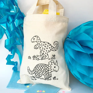 Dinosaur Colour In Party Bag