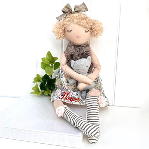 Personalised Princess Soft Toy