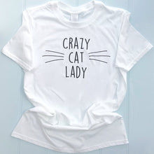Crazy Cat Lady Personalised T Shirt