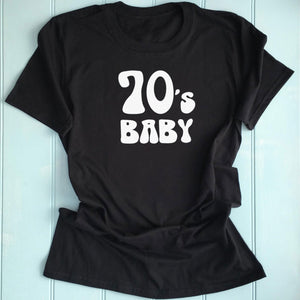 70's Inspired Womens Slogan Printed T Shirt white
