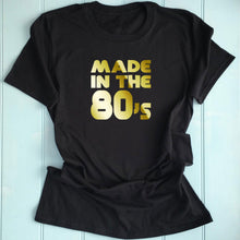 80's Inspired Ladies T Shirt Slogan Printed T Shirt