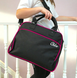 Personalised Dance Bag Pink