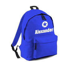 Personalised Star Name Backpack with ANY NAME