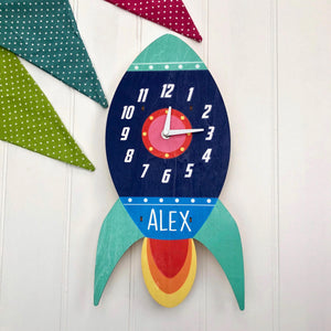 Personalised Child's Clock
