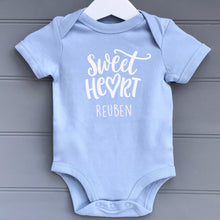 Personalised  Baby Grow Sweet Heart