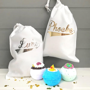 Personalised Bath Bombs Gift Bag