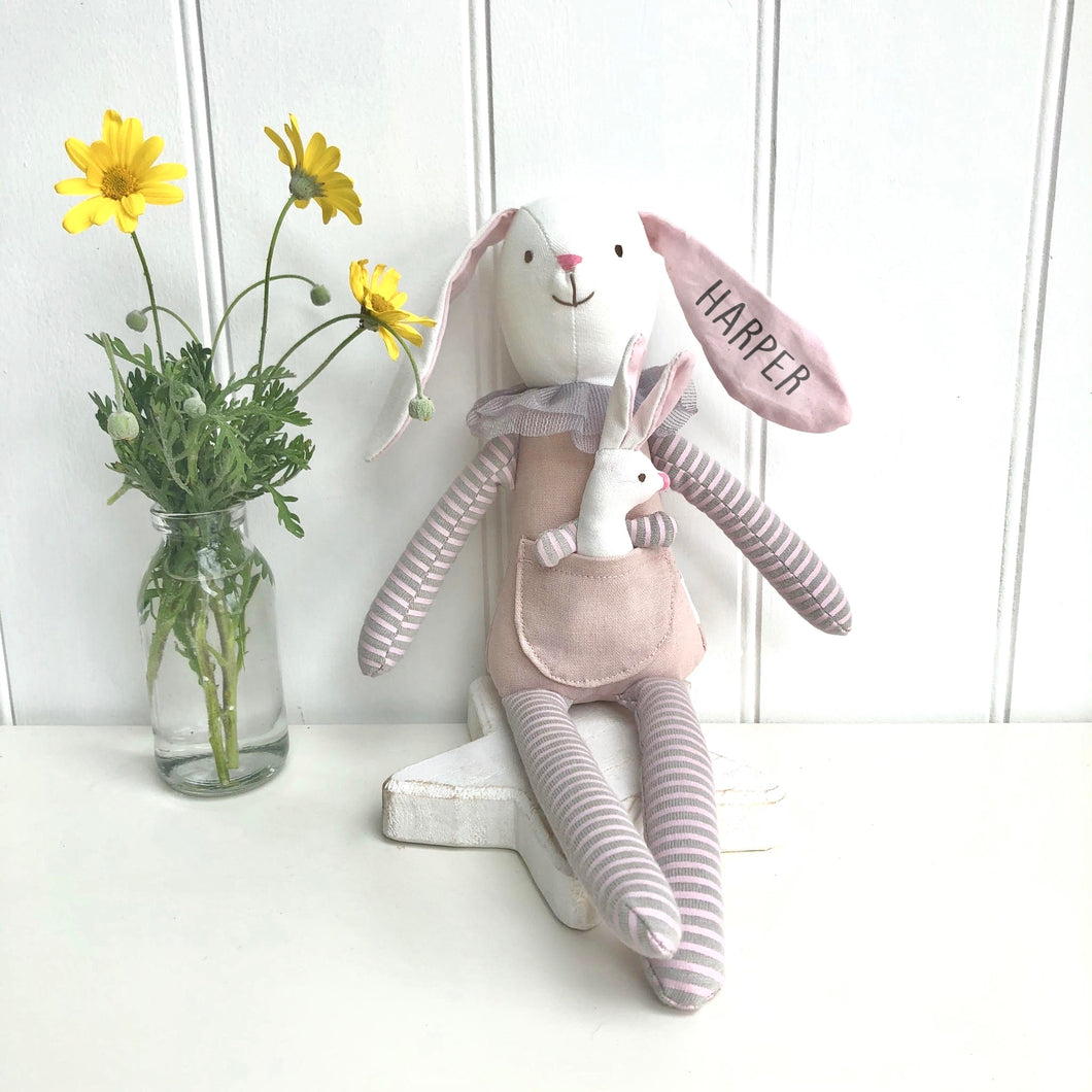 Personalised Mummy Rabbit Toy