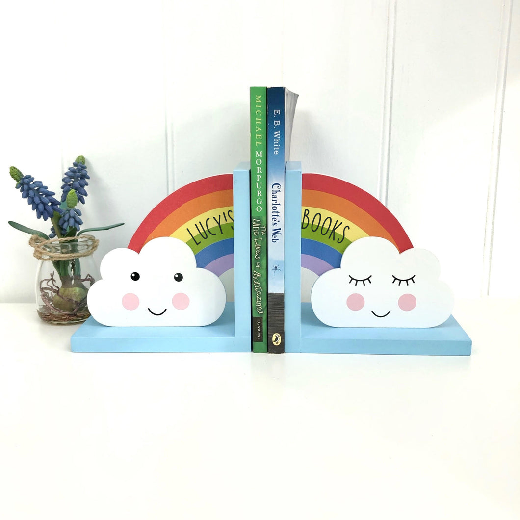 Personalised Children's Book Ends