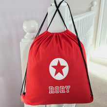 Personalised School PE Bag Star