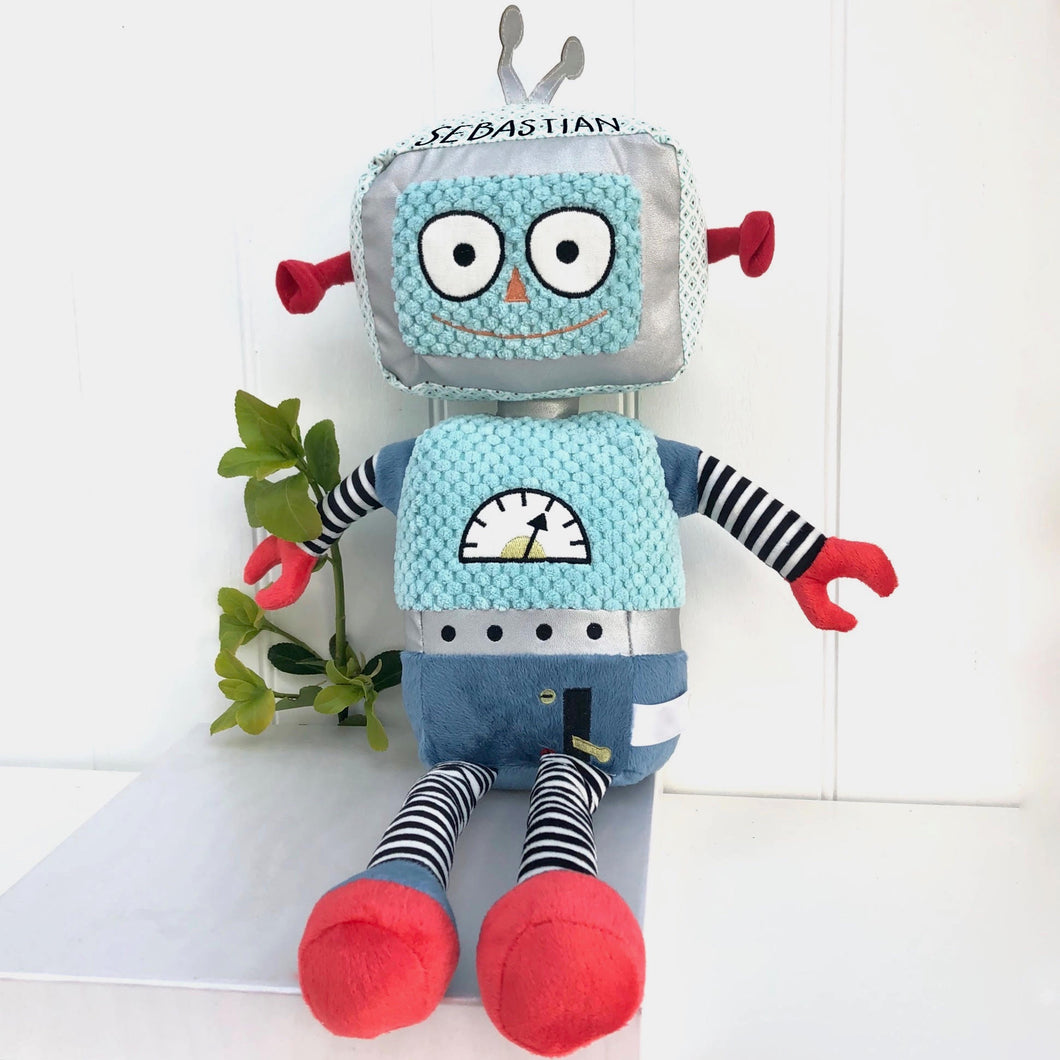 Personalised Robot Cuddly Toy