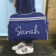 Personalised Script Name Weekender Bag