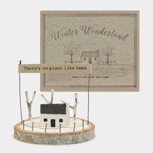 Theres No Place Like Home Wooden Ornament