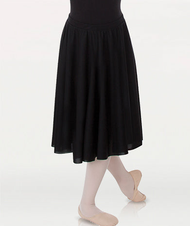 Body Wrappers 0511 Child Knee-Length Circle Skirt