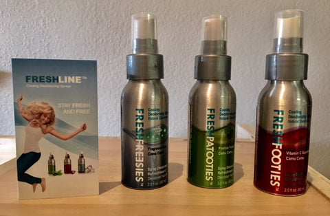Freshline Cooling Deodorizing Spray