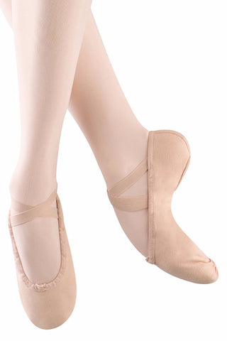 Bloch S0277L Pump Canvas Split Sole Ballet