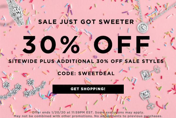 Use Code SWEETDEAL for 30% off