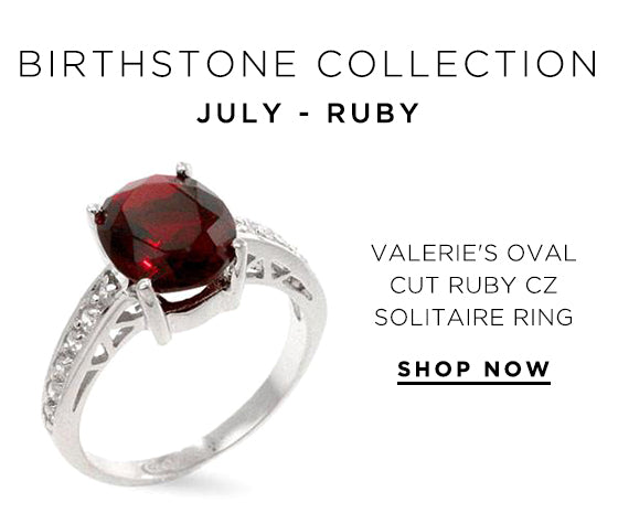 Birthstone Collection - July Ruby
