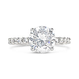 Sterling Silver Classic CZ Solitaire Ring - None