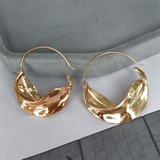 Irregular Leaf Hoops
