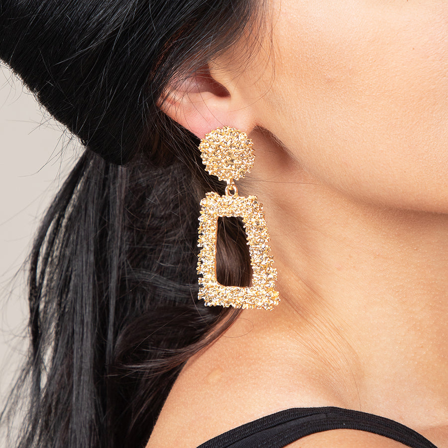 Statement Drop Earrings