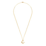 Gold Initial Necklace - Gold