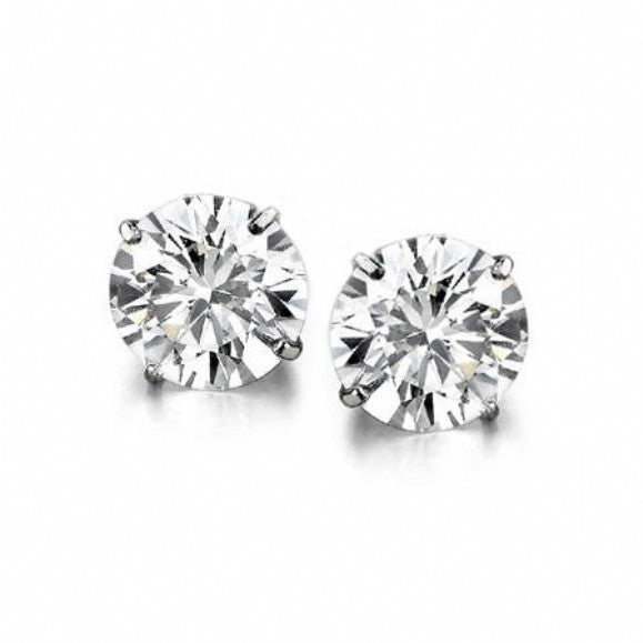 Free 1 Carat Stud Earrings when you spend $75 or more!