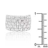 Adalane's Channel Set Princess Cut Ring - None