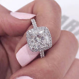 Asa's Antique Style CZ Engagement Ring - None