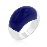 Big Blue Cocktail Ring - None