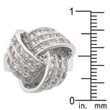 Knotted Fashion Ring - None