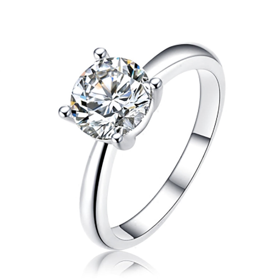The Perfect Solitaire Ring - None