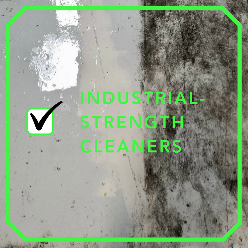 Industrial Strength Cleaners