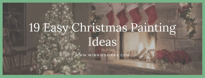 19 Easy Christmas Painting Ideas
