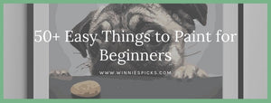 Easy things to paint for beginners