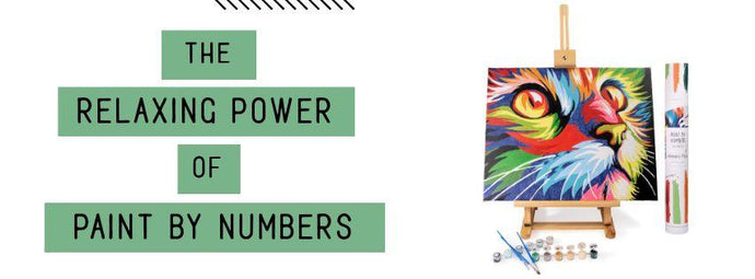 The Relaxing Power of Paint by Numbers for Adults