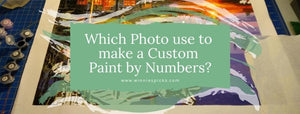 photo to custom paint by numbers