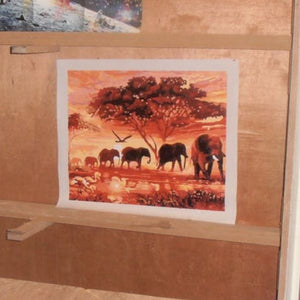Elephant herd paint by numbers review