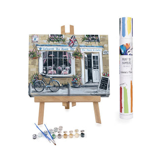 english tearoom paint by numbers