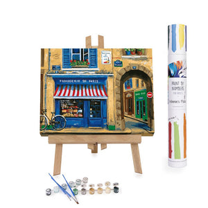 Paint By Numbers Adults Cheese Shop in Paris