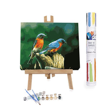 Paint By Numbers Adults Birds Chirping