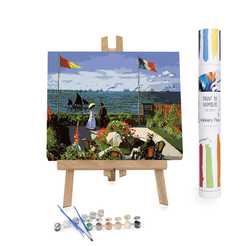 Paint by Numbers Adults Monet