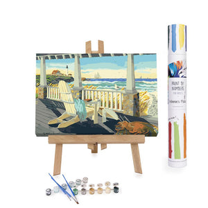 Paint By Numbers Adults Beach