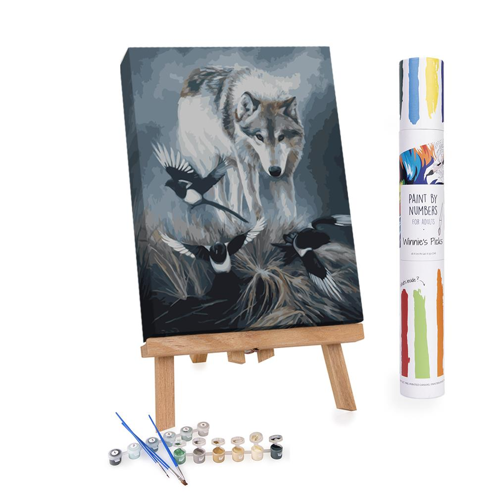 Paint By Numbers Adults Wolf
