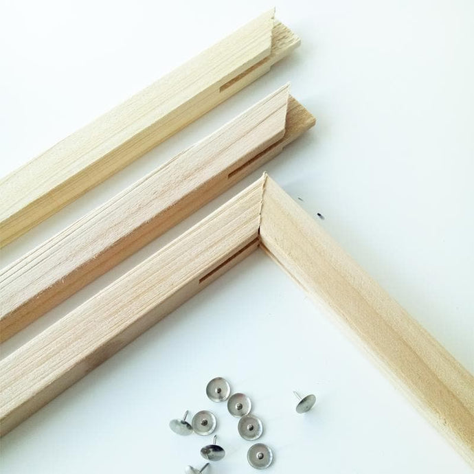 Set of Wooden Stretchers for Paint by Numbers canvas