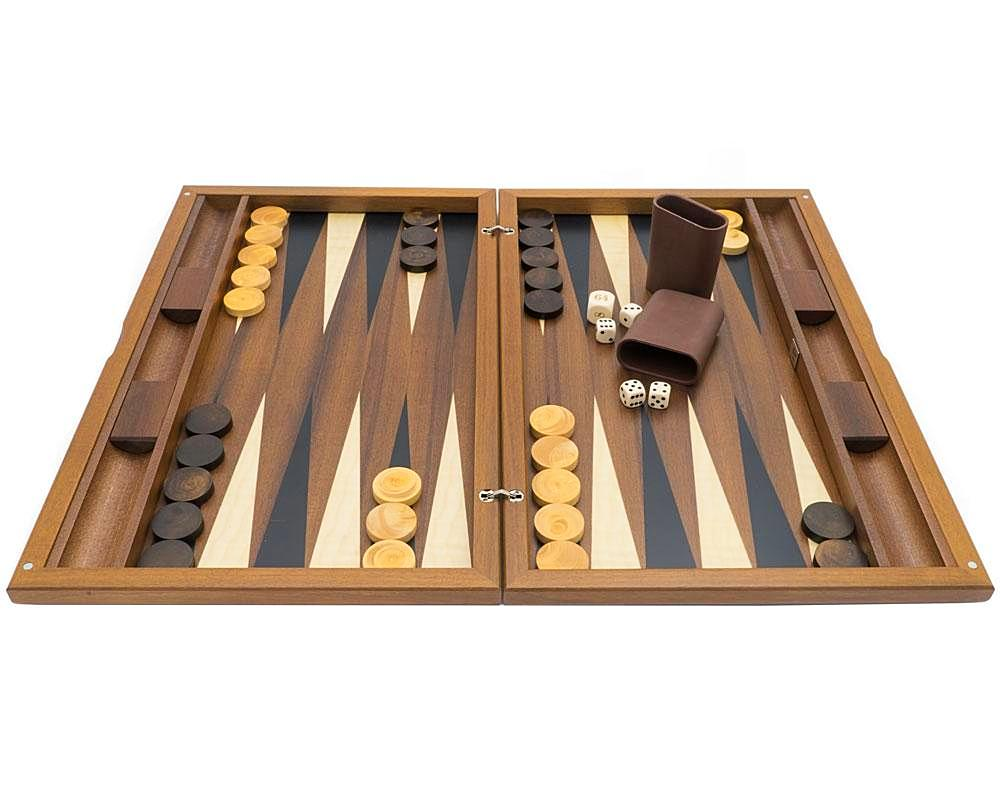Backgammon York de Luxe